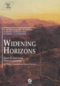 Franco Corradin et Maria Parrino - Widening Horizons. 1 Cassette audio