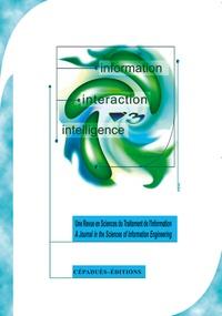 Cépaduès - Information Interaction Intelligence Volume 2 N° 2/2002 : .