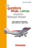 Cépaduès - Les questions PPL (A) ou LAPL (A) associées au Manuel Avion.