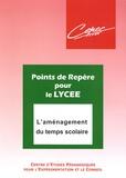 CEPEC Lyon - L'aménagement du temps scolaire.