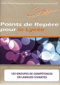 CEPEC Lyon - Les groupes de compétences en langues vivantes.