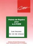 CEPEC Lyon - Les heures de vie de classe.