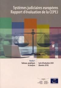 CEPEJ - Systèmes judiciaires européens - Rapport d'évaluation de la CEPEJ - Cycle d'évaluation 2020 (données 2018) Partie 1, Tableaux, graphiques et analyses.