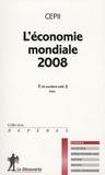 CEPII - L'économie mondiale 2008.