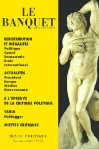 CERAP et  Collectif - .