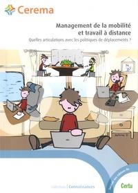 Management de la mobilité et travail à distance- Quelles articulations avec les politiques de déplacements ? -  Cerema pdf epub