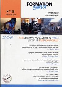 CEREQ - 10 ans de parcours professionnels des jeunes : l'intérêt des études longitudinales.