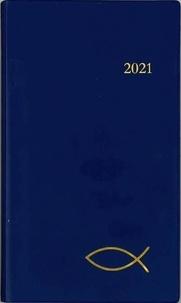 Cerf - Agenda du chrétien (bleu).