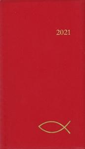 Cerf - Agenda du chrétien (rouge).