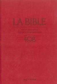 Cerf - La Bible TOB - Notes intégrales, traduction oecuménique.