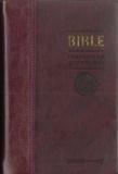 Cerf - La Bible TOB - Traduction oecuménique avec introductions, notes essentielles, glossaire, reliure semi-rigide, couverture similicuir bordeaux, tranches or.