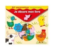 Cerf-Volant - Je décore mon livre Les animaux de la ferme - 60 gommettes repositionnables.