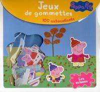Cerf-Volant - Jeux de gommettes Peppa Pig Les saisons - 100 autocollants.