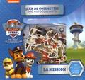 Cerf-Volant - La mission Pat' Patrouille - 100 gommettes, 8 décors et un poster de jeux.