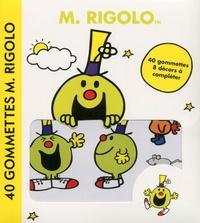 Cerf-Volant - Monsieur Rigolo - 40 gommettes.