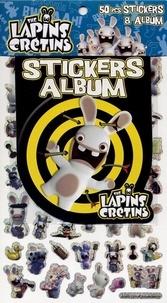 Cerf-Volant - The Lapins Crétins - 50 stickers + album.
