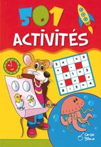 Cerise bleue - 501 activités - Coloriages, puzzles, mots à découvrir, labyrinthes....