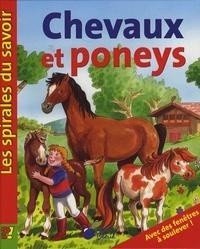 Cerise bleue - Chevaux et poneys.