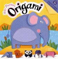 Histoiresdenlire.be Mes premiers origami - 5 animaux en papier et des autocollants Image