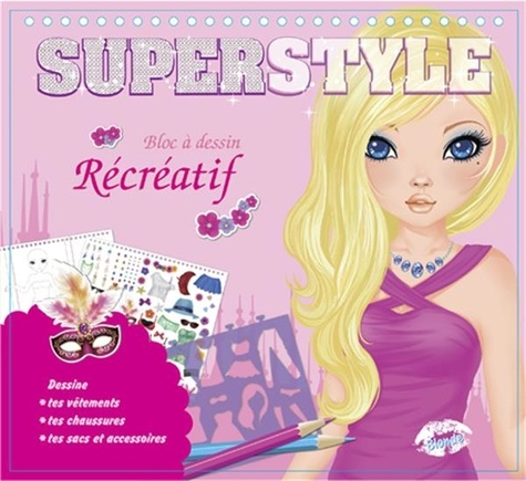 Cerise bleue - Superstyle blonde.
