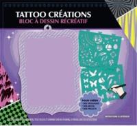 Cerise bleue - Tattoo créations - Bloc à dessin récréatif.