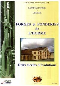 CERPI - Forges et Fonderies de L'Horme.