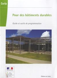 Pour des bâtiments durables - Guide et outils de programmation.pdf
