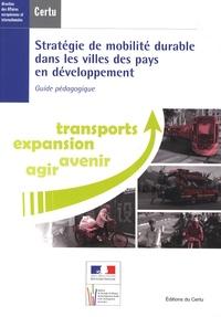 CERTU - Stratégie de mobilité durable dans les villes des pays en développement - Guide pédagogique. 1 Cédérom
