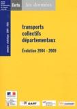CERTU - Transports collectifs départementaux - Evolution 2004-2009 - Annuaire statistique 2009-2010.