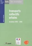 CERTU - Transports collectifs urbains - Evolution 2003-2008.