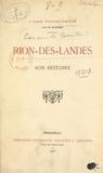 Césaire Daugé - Rion-des-Landes - Son histoire.