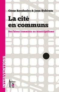 Deedr.fr La cité en communs - Des biens communs au municipalisme Image