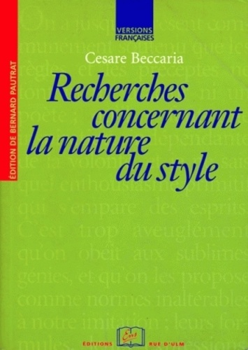 Cesare Beccaria - .