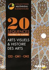 Raabe - 20 séquences testées en classe Arts visuels & histoire des arts CE2-CM1-CM2. 1 DVD