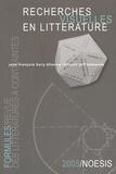 Jean-François Bory et Etienne Lécroart - Formules N° 9/2005 : Recherches visuelles en littérature.