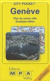 MPA Verlag - Genève - Plan du centre ville.