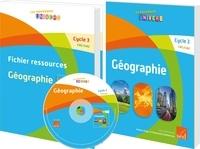 Antoine Auger et Emmanuel Guimberteau - Géographie Cycle 3 CM1/CM2 - Fichier ressources + 15 livres de l'élève + posters. 1 Cédérom