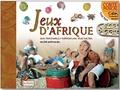 Valérie Karpouchko - Jeux d'Afrique - jeux traditionnals à fabriquer avec trois fois rien. 1 CD audio