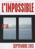 Michel Butel - L'impossible N° 14, septembre 201 : .