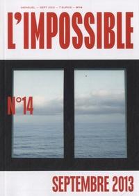 Michel Butel - L'impossible N° 14, septembre 201 : .