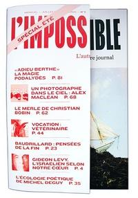 Michel Butel - L'impossible N° 5, Juillet 2012 : .