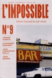 Michel Butel - L'impossible N° 9, Novembre 2012 : .