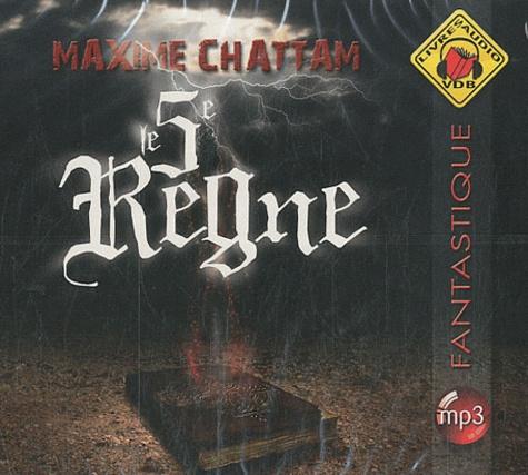 Maxime Chattam - Le 5e règne. 1 CD audio MP3