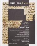 Jean-Etienne Long - Lumière et Vie N° 285, Janvier-mars : Timothée.