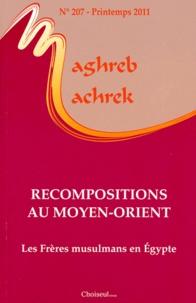 Stéphane Valter - Maghreb-Machrek N° 207, Printemps 20 : Recompositions au Moyen-Orient.