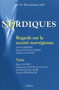 André Grjebine - Nordiques N° 14, Eté-Automne 2 : Regards sur la société norvégienne.
