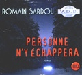 Romain Sardou - Personne n'y échappera. 1 CD audio MP3