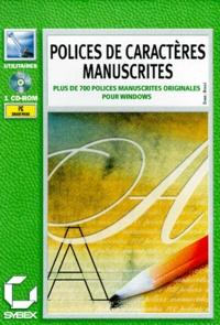 Polices de caractères manuscrites. CD-ROM.pdf