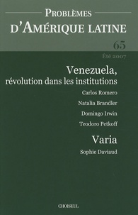 Problèmes dAmérique latine N° 65, Eté 2007.pdf