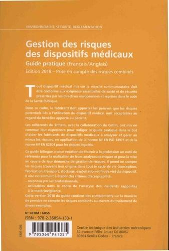 Gestion des risques des dispositifs médicaux 2018 (Réf : 6D55). Guide pratique  Edition 2018
